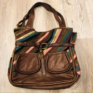 FOSSIL Fifty Four Chelsea Shopper Leather …